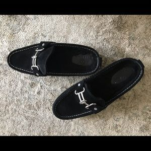 Cole Haan  lined suede slip on